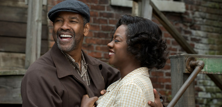 Denzel Washington and Viola Davis featured on new Fences poster