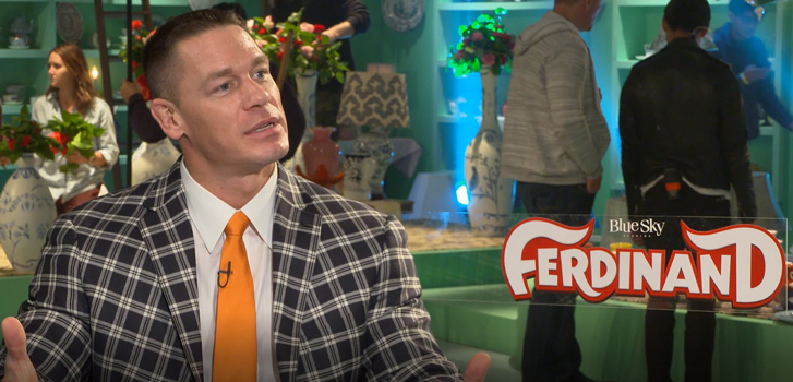 John Cena and cast talk Ferdinand's wonderful message