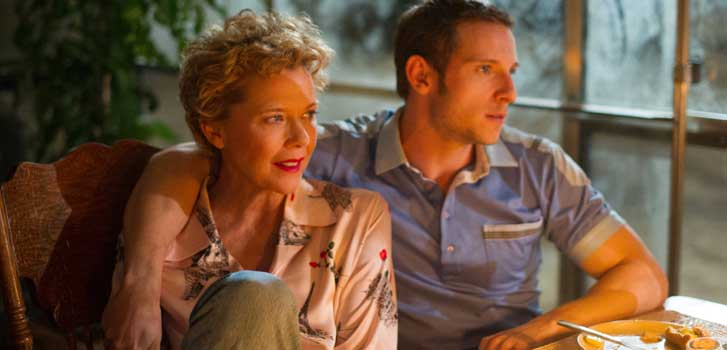 Annette Bening and Jamie Bell talk Film Stars Don't Die in Liverpool