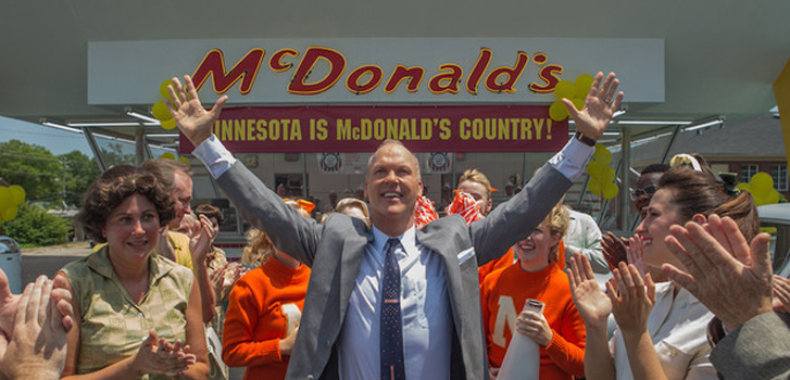 michael keaton, the founder, trailer, mcdonalds, image