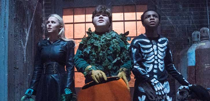 Goosebumps 2: Haunted Halloween offers good spooky fun for the whole family