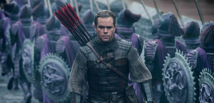 Matt Damon fights for humanity in the thrilling new trailer for The Great Wall