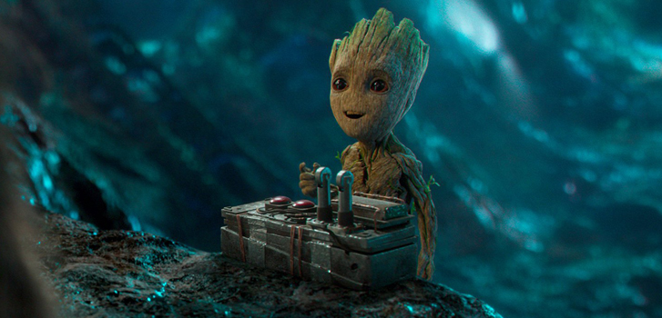 guardians of the galaxy vol. 2, cineplex, quiz, new, groot, space