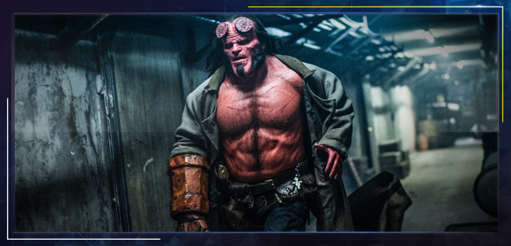 David Harbour on stepping into the charmingly conflicted role of Hellboy—find out if it tested his morals