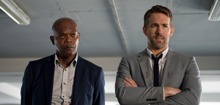 samuel l. jackson, ryan reynolds, the hitman's bodyguard,