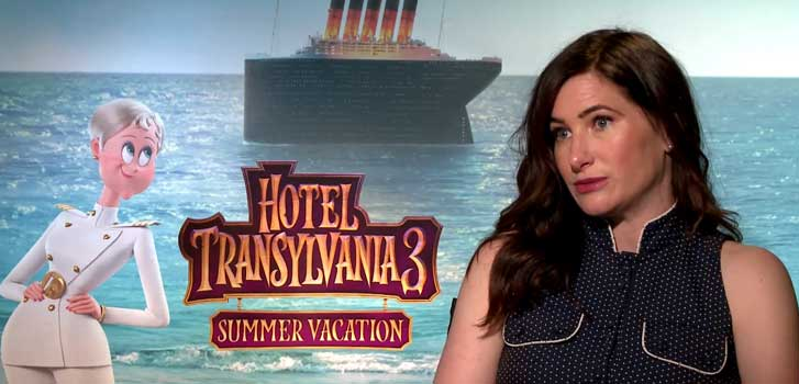 Kathryn Hahn talks about method acting and Hotel Transylvania 3: Summer Vacation