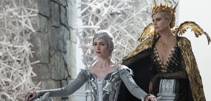 emily blunt, charlize theron, the huntsman: winter's war, image