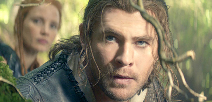 chris hemsworth, jessica chastain, the huntsman: winter's war, image