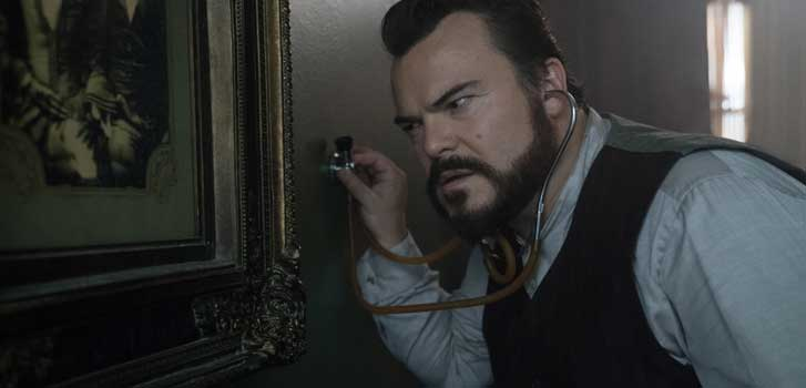 jack black, the house with a clock in its walls,