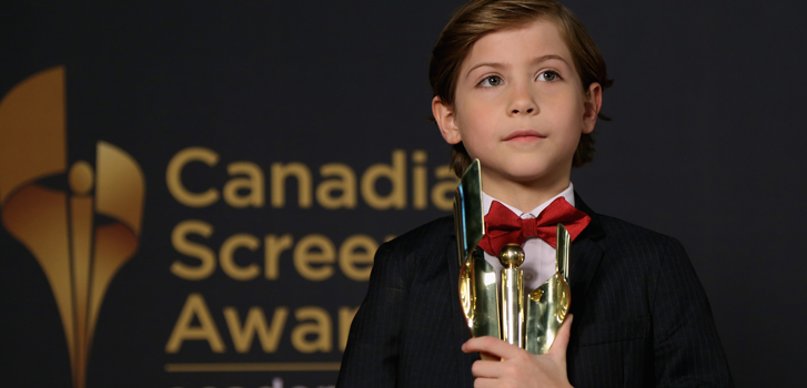 jacob tremblay, room, canadian screen awards, image