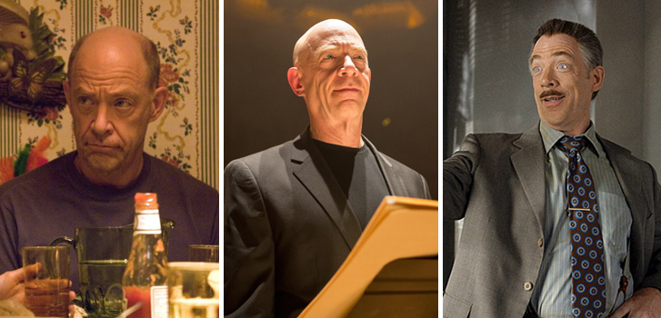 jk simmons, juno, whiplash, spider-man, movie, film, roles,