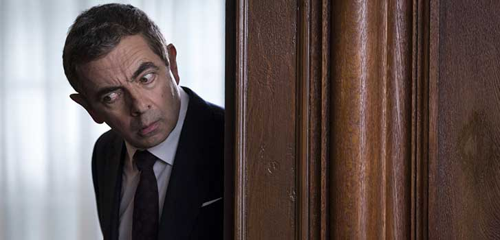 Johnny English Strikes Again in a smashing new spy spoof