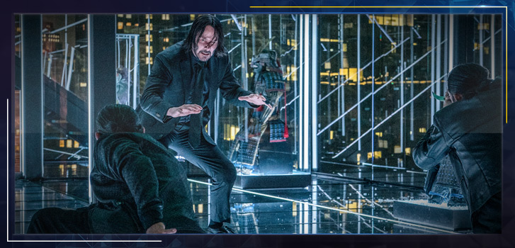 Keanu Reeves is the only actor who could deliver the masterful gun fu in John Wick