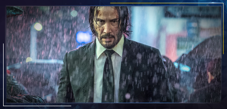 Keanu Reeves on why playing John Wick is an epic action-packed dance