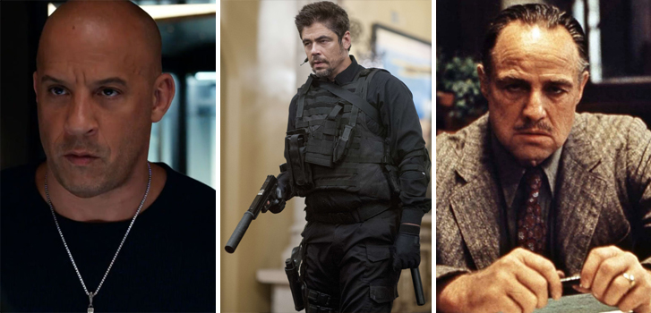 the fate of the furious, sicario, the godfather, cineplex, store, june