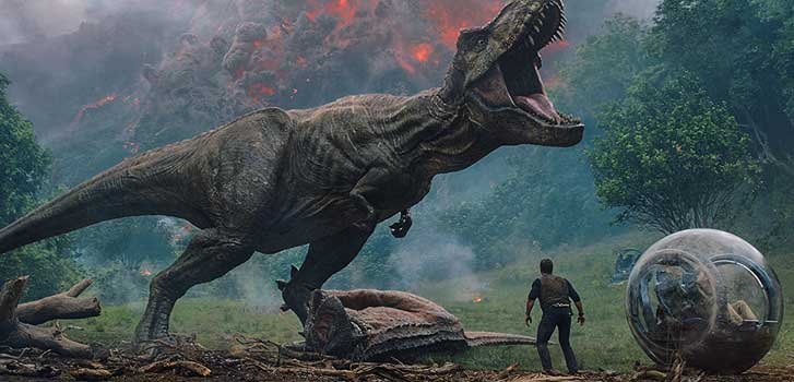 jurassic world fallen kingdom, chris pratt, cineplex store, buy, rent,