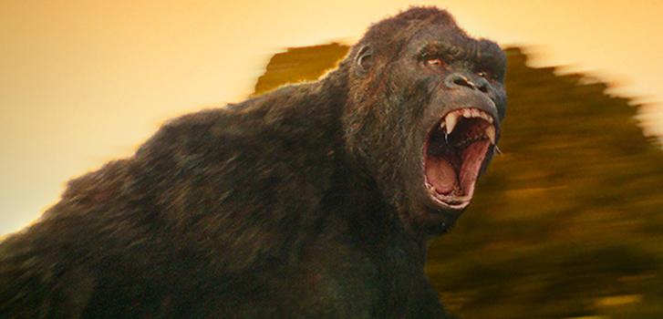 Brie Larson comes face to face with the king of apes in the new trailer for Kong: Skull Island
