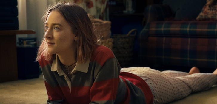 saoirse ronan, lady bird, greta gerwig, tiff, movie, film, lucas hedges, timothee chalamet,