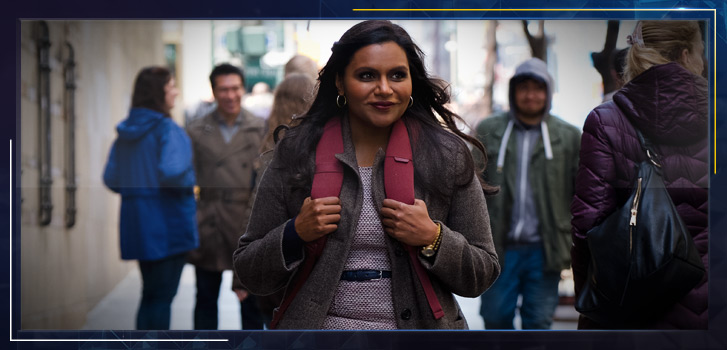 Mindy Kaling explains why she's the only one who could write her new film, Late Night
