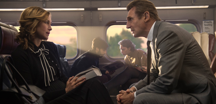 Liam Neeson, Patrick Wilson and Jaume Collet-Serra talk The Commuter