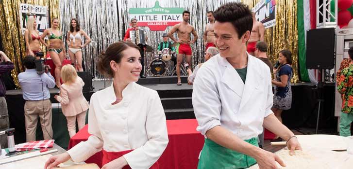 Little Italy makes us wonder, if Hayden Christensen was a pizza...