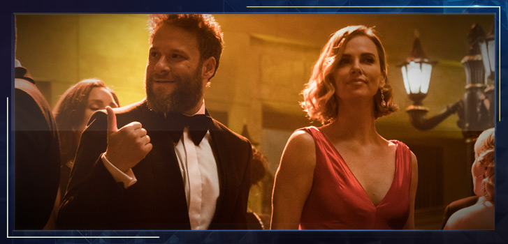 Charlize Theron and Seth Rogen are the perfect unlikely match in Long Shot