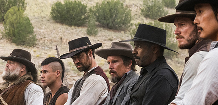 Chris Pratt, Denzel Washington, and Ethan Hawke bring back the classic The Magnificent Seven in first trailer