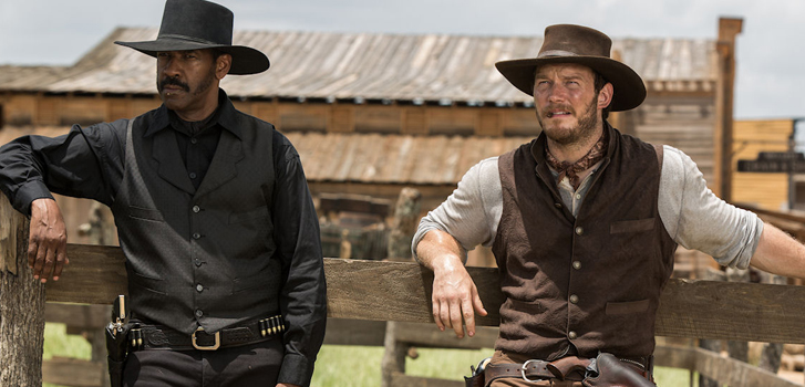 Chris Pratt and the cast of The Magnificent Seven talk about the film in an EXCLUSIVE new clip