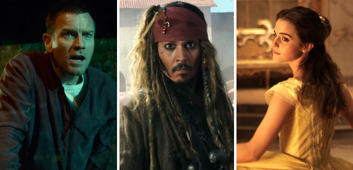 Pirates of the Caribbean, T2 trailers, Beauty and the Beast featurette and more make our daily round-up