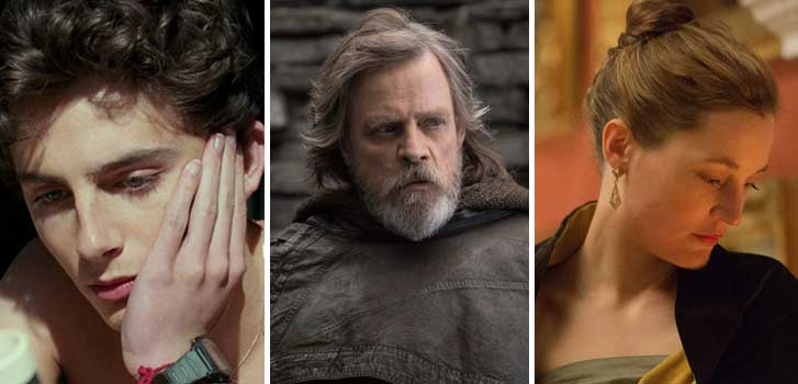 Call Me By Your Name, Star Wars: The Last Jedi, Phantom Thread and more hit the Cineplex Store this March!