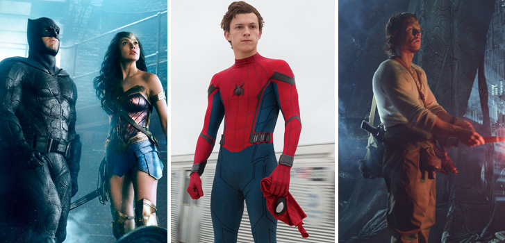 Justice League, Spider-Man: Homecoming and Transformers: The Last Knight make our daily roundup!