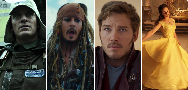 Marvel's Guardians of the Galaxy Vol 2, Pirates of the Caribbean, Alien trailers and more make our weekly round-up