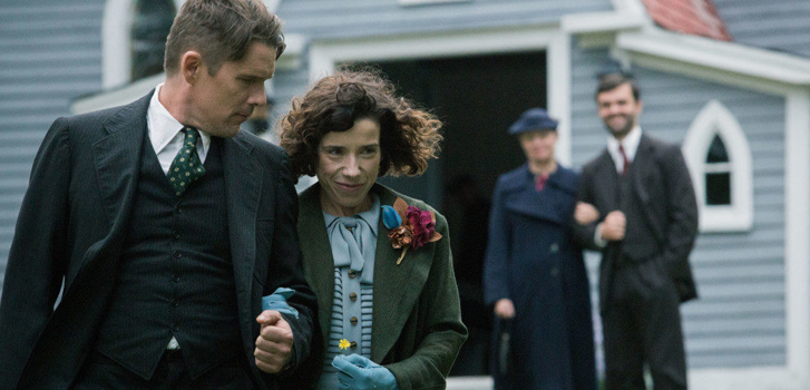 Sally Hawkins and Ethan Hawke star in the EXCLUSIVE first trailer for Maudie