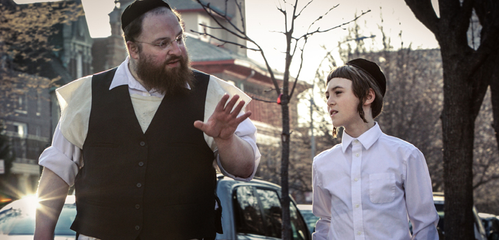 Menashe misses his son in EXCLUSIVE new clip from Menashe