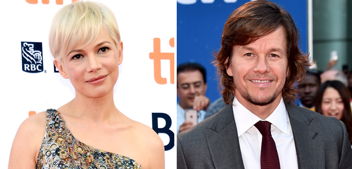 mark wahlberg, michelle williams, tiff, movie,