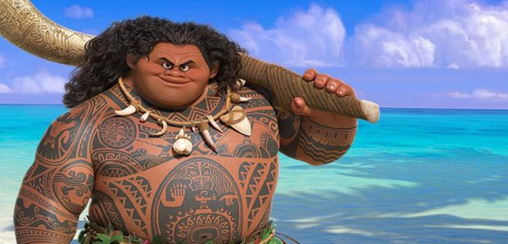 New Moana clip shows more of Dwayne Johnson's character, Maui
