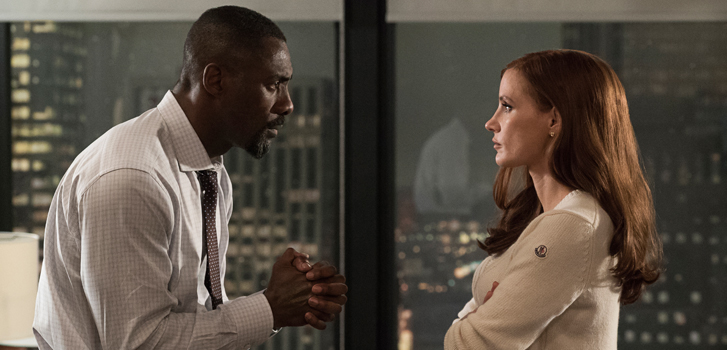 Jessica Chastain, Idris Elba and the cast of Molly's Game talk their high-stakes film