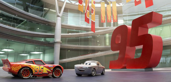 nathan fillion, owen wilson, cars 3, disney, pixar, new, newest, latest, new release, movie, film, animated, cars,