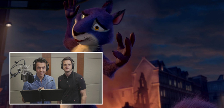 The Nut Job 2: Tanner Zee learns how to voice an animated character!