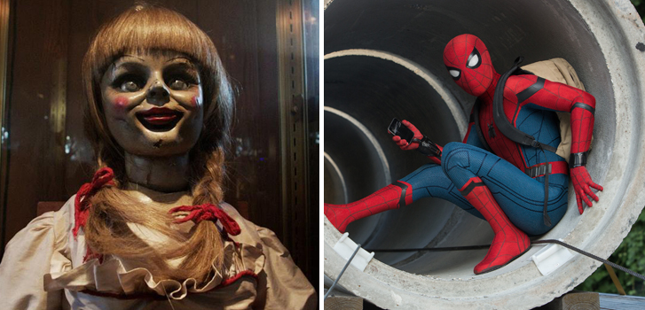 Spider-Man, Annabelle: Creation, and more new titles coming to the Cineplex Store in October!