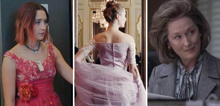 Lady Bird, Phantom Thread, The Post and all of the Oscar Nominees you need to see in theatres!