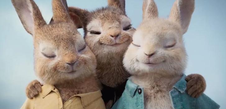 peter rabbit, flopsy turvy, margot robbie, daisy ridley, elizabeth debicki,