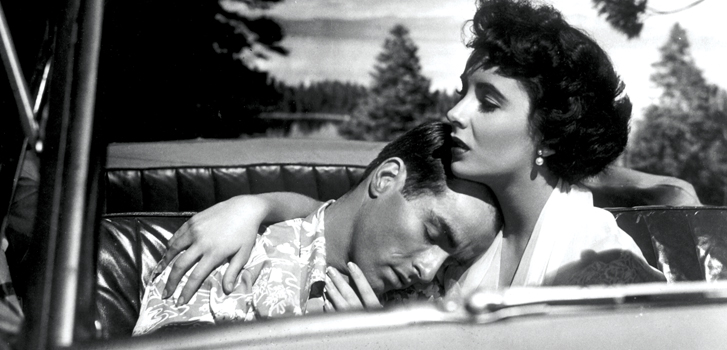 elizabeth taylor, montgomery clift, a place in the sun, classic cinema, event cinema, image