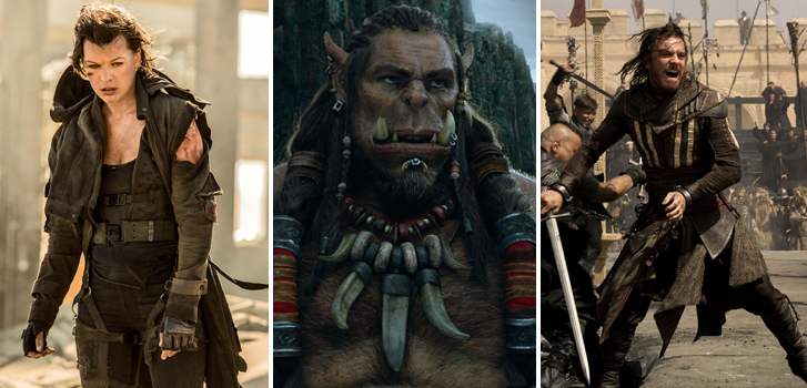Get ready for Assassin's Creed with our list of video games on film