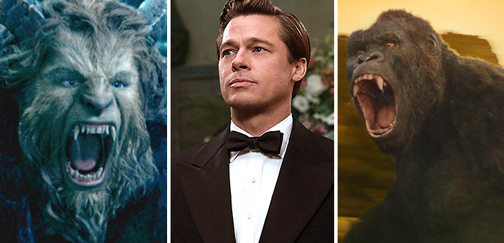 New Beauty and the Beast and Kong trailers, Allied clips and more in our weekly round-up