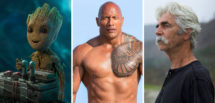 guardians of the galaxy vol.2, baywatch, the hero, cineplex, news, new, the rock, groot