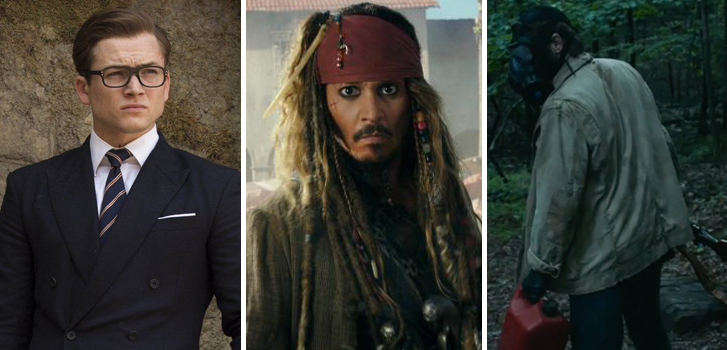 kingsman: the golden circle, Pirates of the Caribbean, it comes at night, cineplex, new, posters, trailers, exclusive, roundup