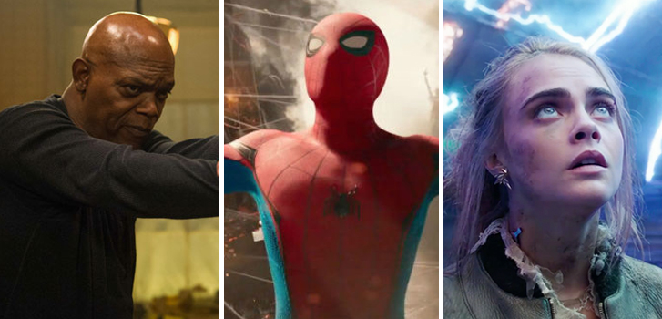 daily, news, cineplex, hitman's bodyguard, spider man, valerian