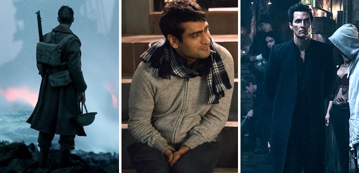 dunkirk, the big sick, the dark tower, cineplex, roundup, news, trailers