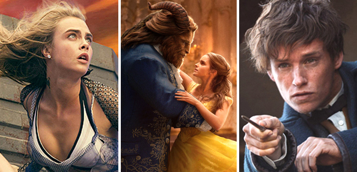 Beauty and the Beast, Valerian, Fantastic Beasts and more cover our weekly round-up